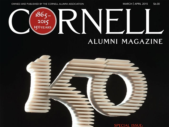 So What are the Guys Doing? in Cornell Alumni Magazine